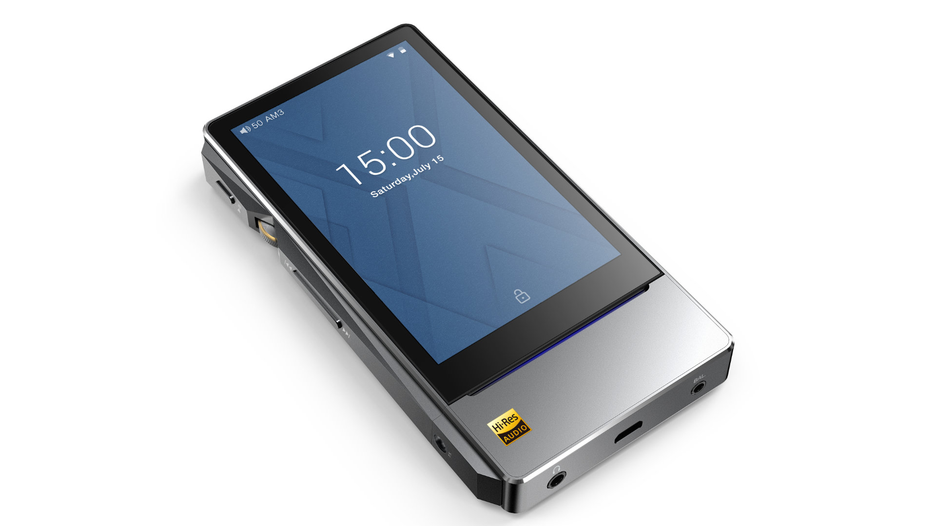 FiiO X7 Mark II liegend